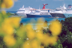 Nassau is Known for it Cruise Ships and Port
