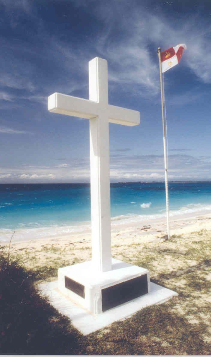 San Salvador Cross in the Bahamas