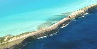 Eleuthera and its Narrow Coastline