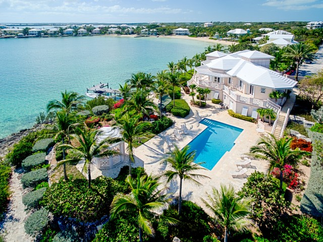 Waterfront Investment Home for Sale in the bahamas.