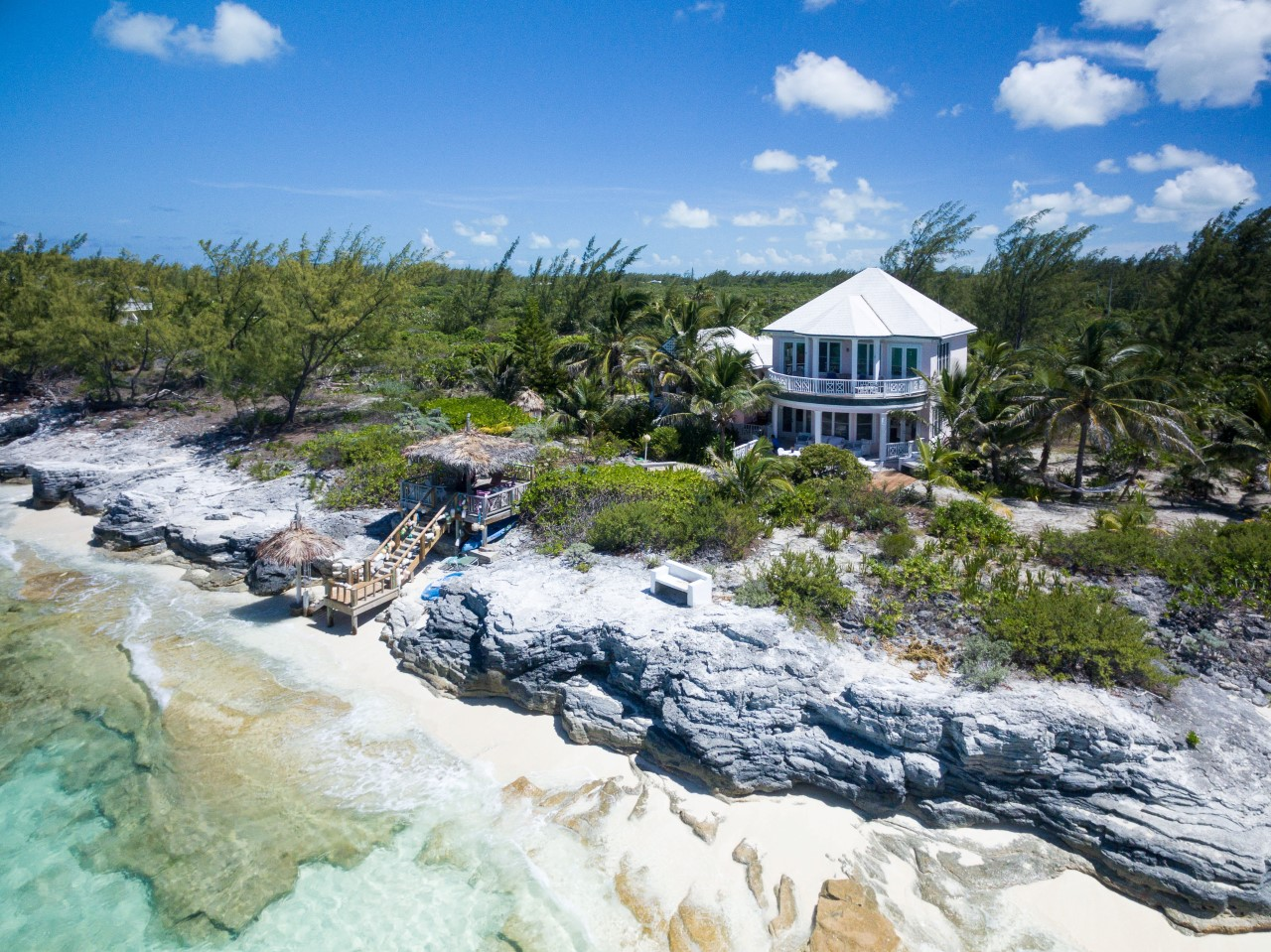 Beachfront home for sale