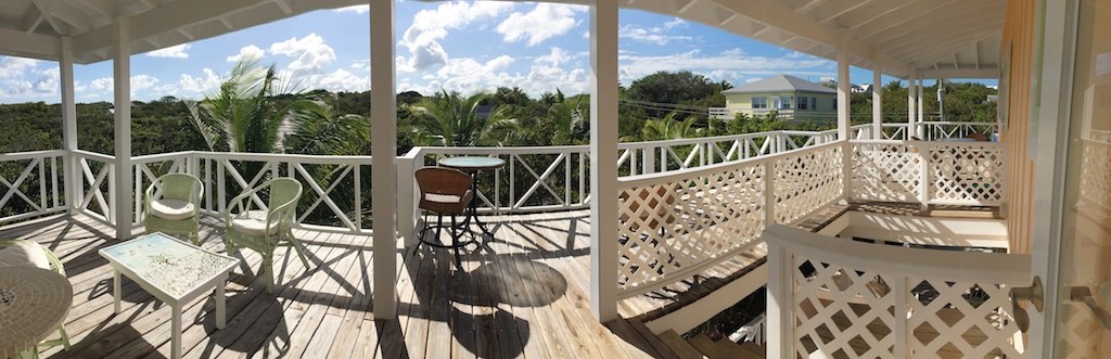Abaco House with a view