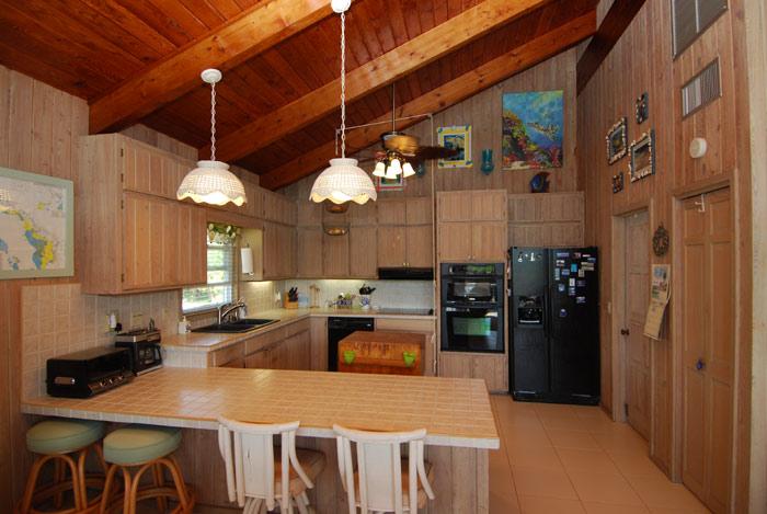 Upgraded modern kitchen