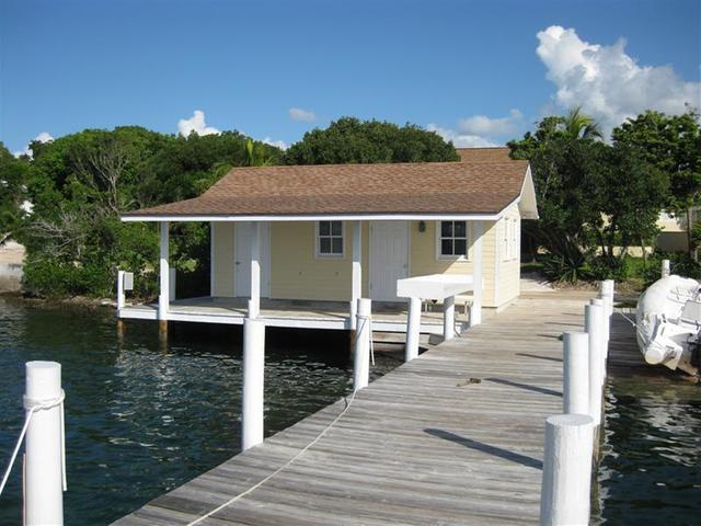 Waterfront home for sale with dock in Green Turtle Cay