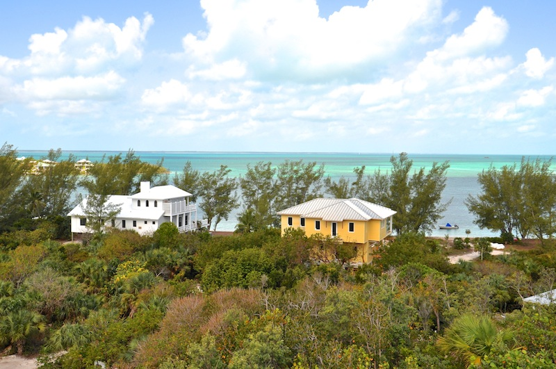 Home with a view in Green Turtle Cay