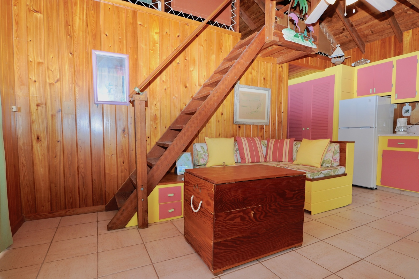 Colorful island home for sale in Man-O-War Cay