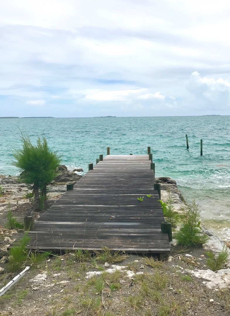 Home for sale in Abaco with views of the Sea of Abaco A dock and A Boat Ramp