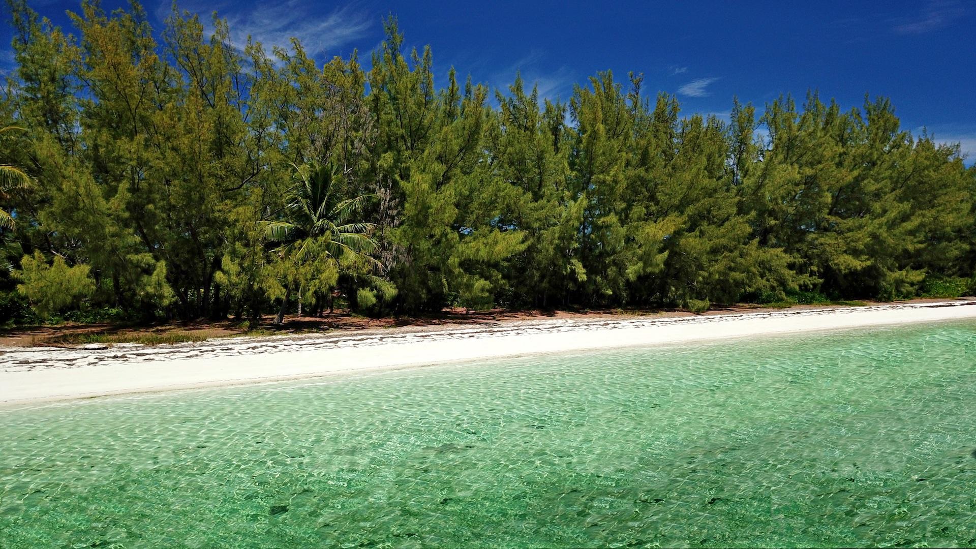 sea-to-sea acreage on Munjack Cay, Abaco for sale
