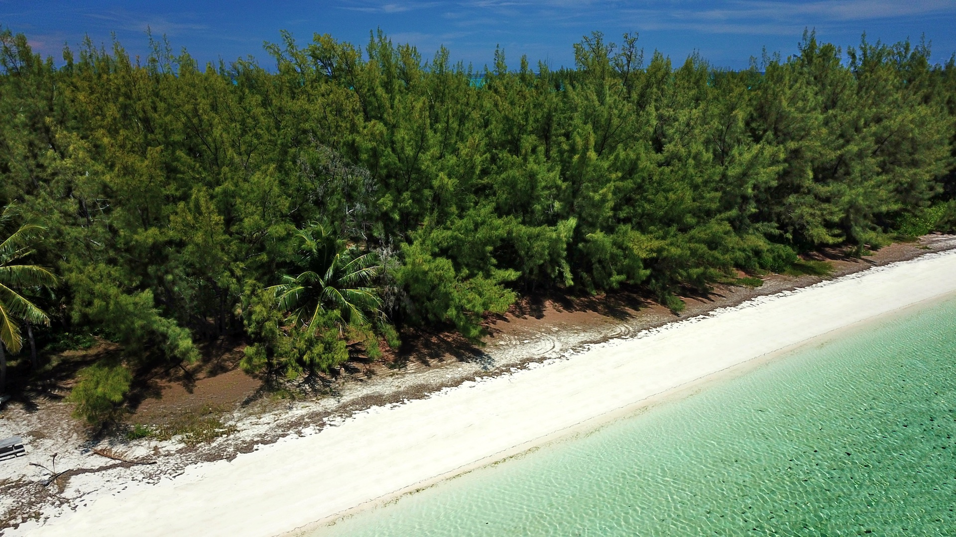 Live off grid in Paradise vacant sea-to-sea acreage for sale on Munjack Cay, Abaco