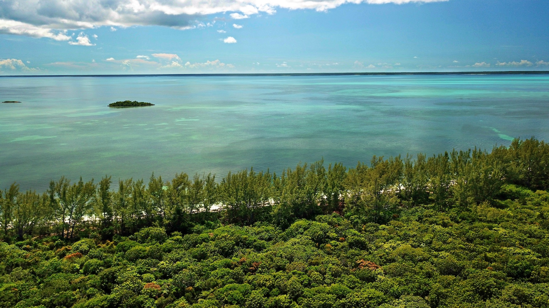 Sea to sea beachfront acreage on Munjack Cay for sale