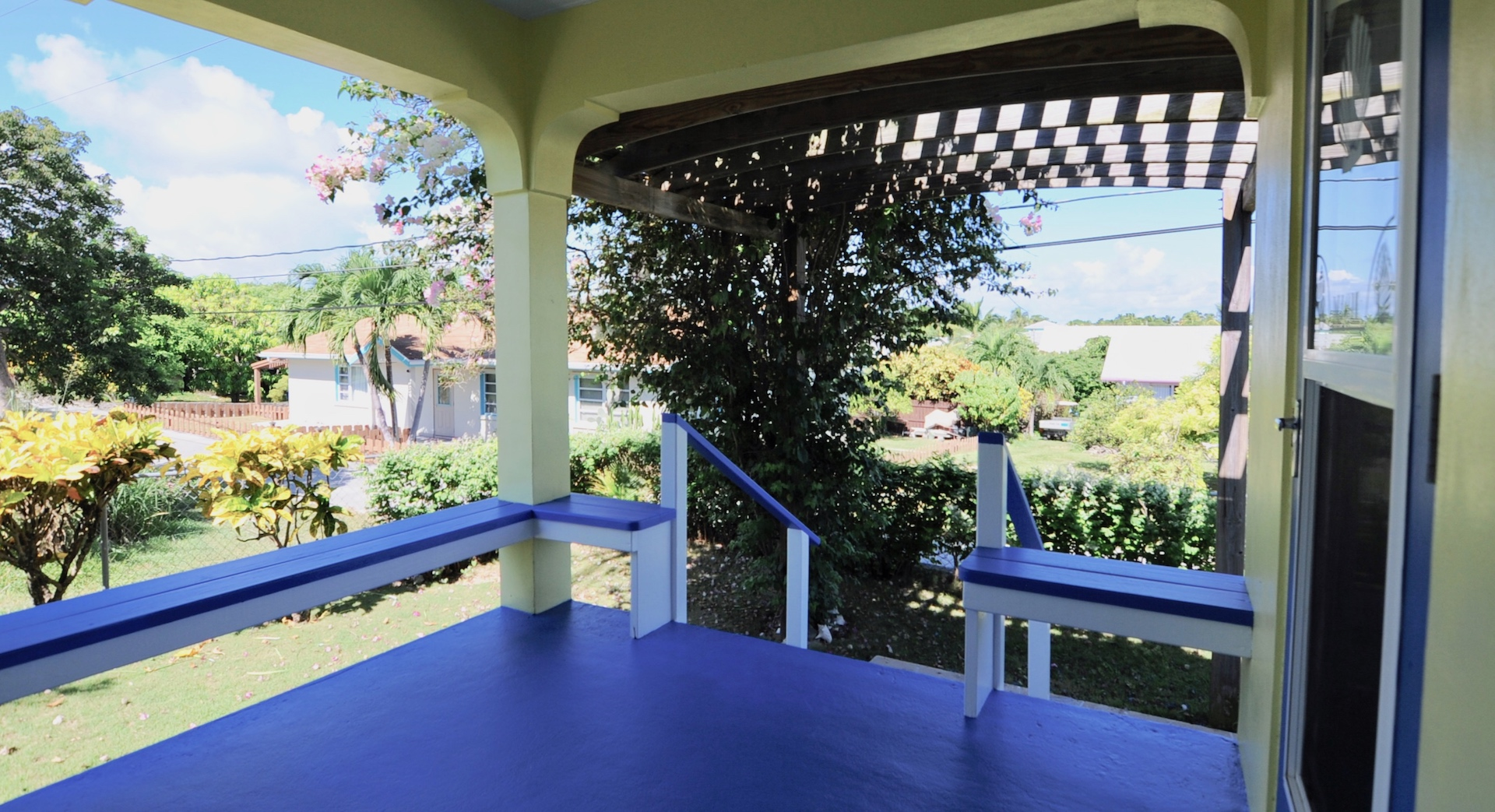 Relaxing in Man-O-War Cay Abaco Bahamas home for sale