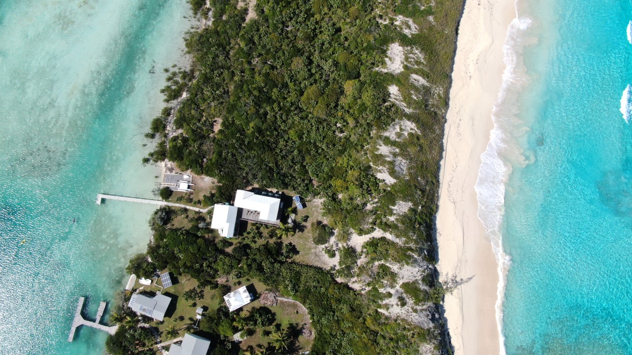 Sea to Sea Home with Beach and Dockage for Sale in Exuma