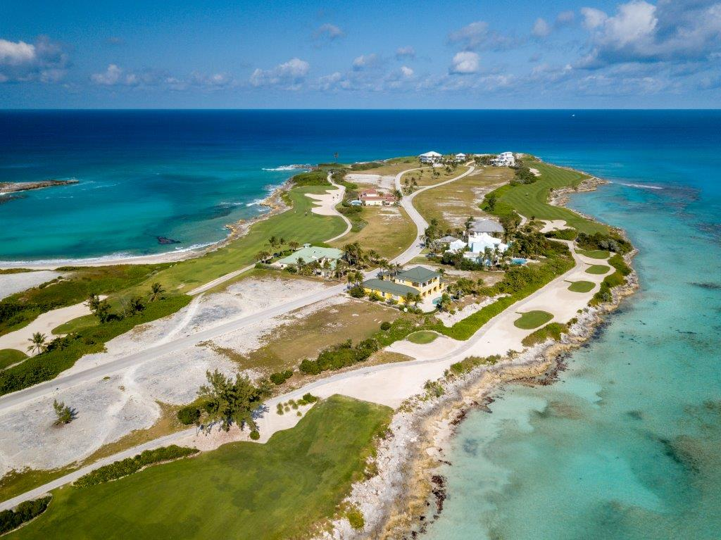 Golf Course vacant lot for sale in Exuma with Ocean Views