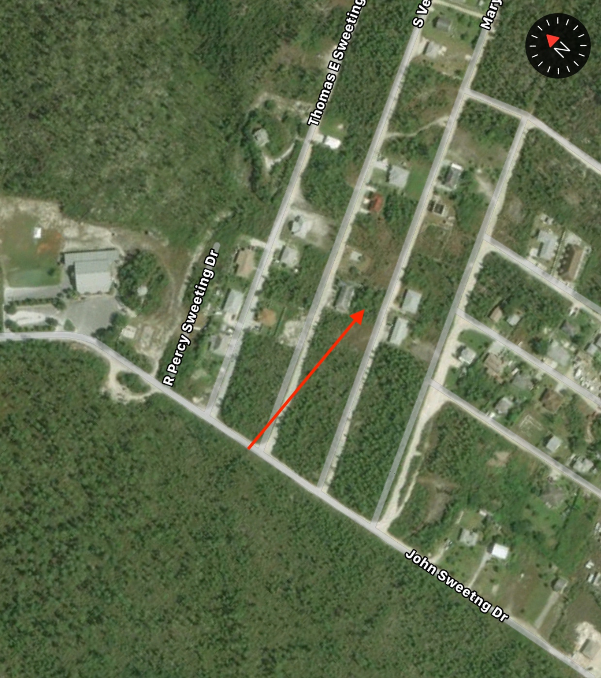 Vacant lot for sale in Sweetings Village