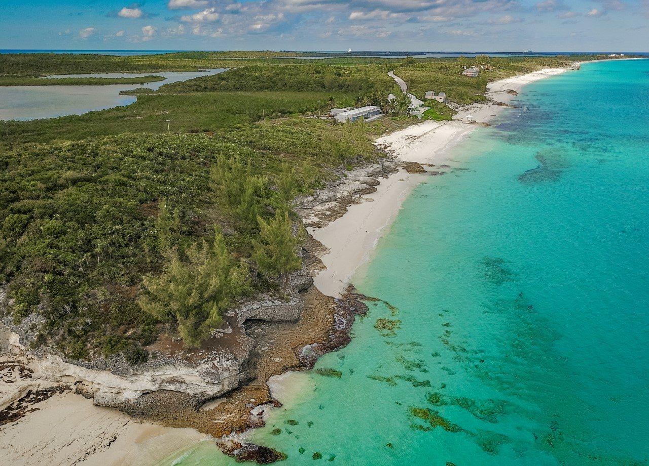 Beachfront Land For Sale in Great Harbour Cay, Berry Islands, Bahamas