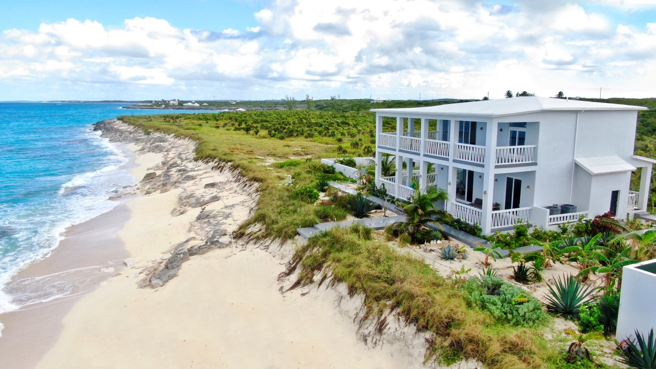 Beachfront Home For Sale in San Salvador, Bahamas