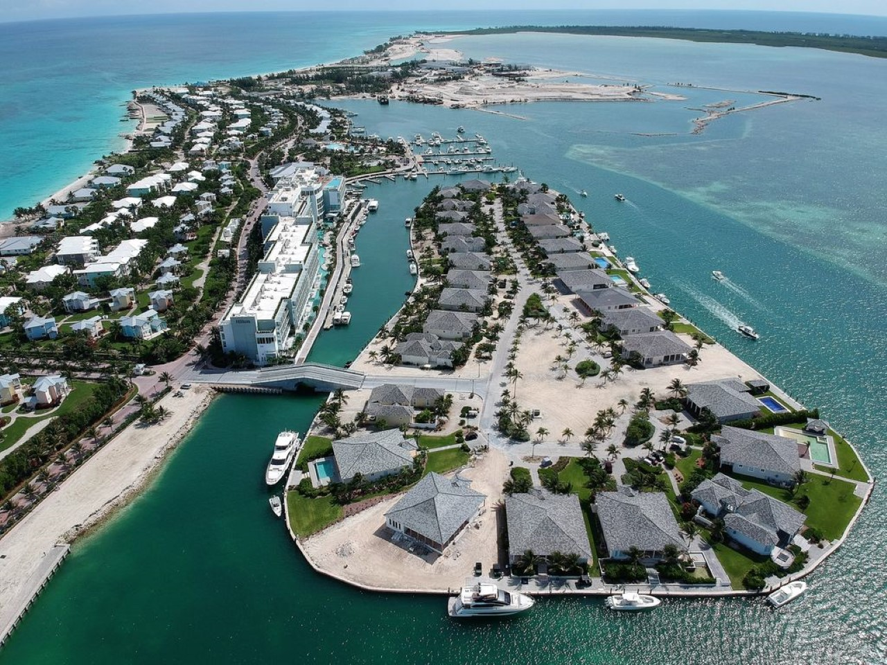 bimini bay private island home
