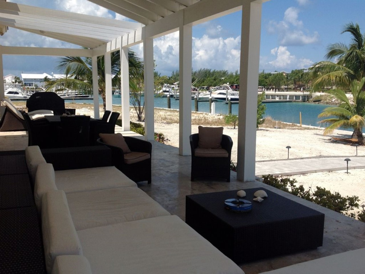 bimini bay private island home