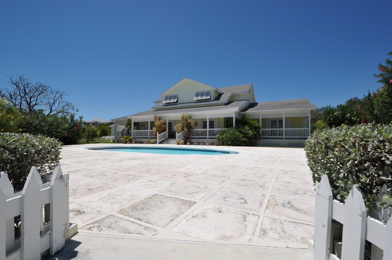 Canalfront Home for Sale in Bahamas