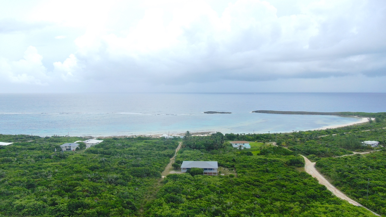 Aerial View of Turtle Cove Beach