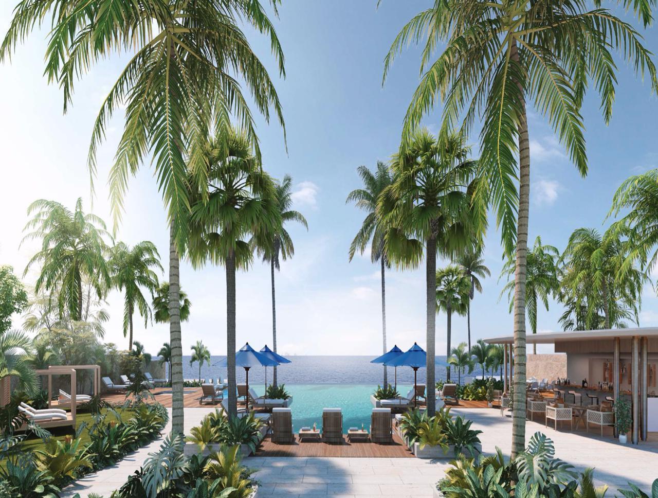 Aqualina Gated Beachfront Condo Nassau
