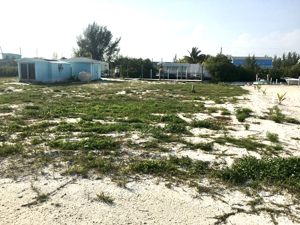 bimini beach front bay front lot
