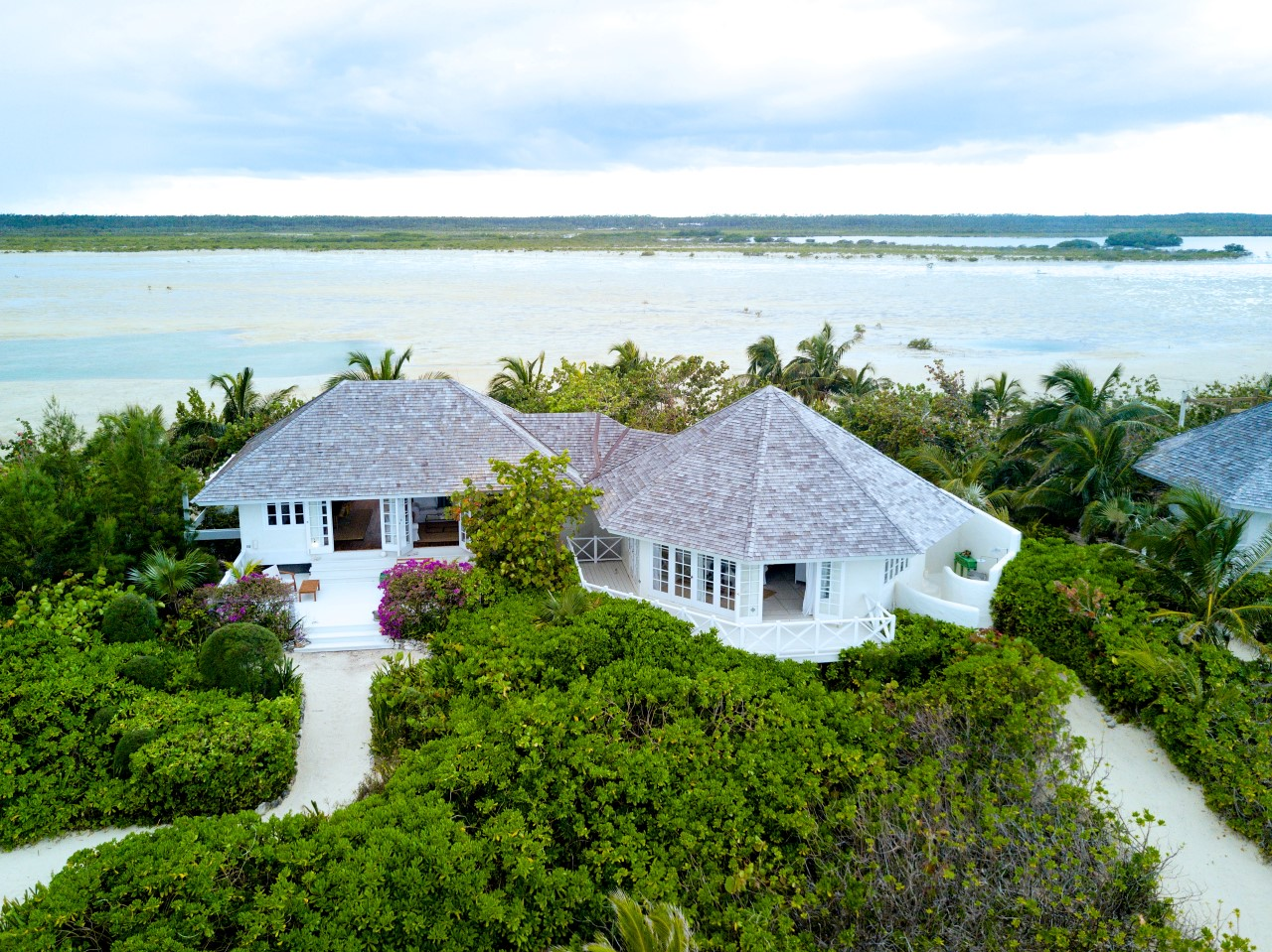 Kamalame Cay beachfront home